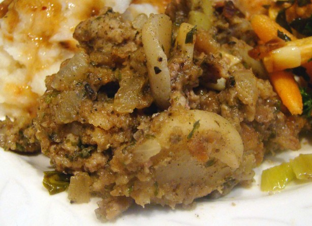 Sausage Water Chestnut Dressing Stuffing Recipe - Food.com
