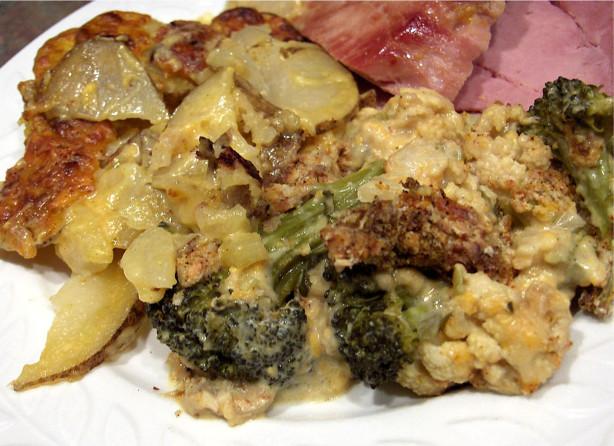 Broccoli Cauliflower Gratin Recipe - Food.com