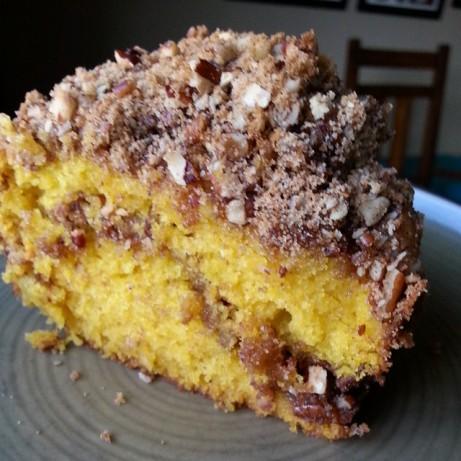 Pumpkin And Spice Sour Cream Coffee Cake Recipe - Food.com