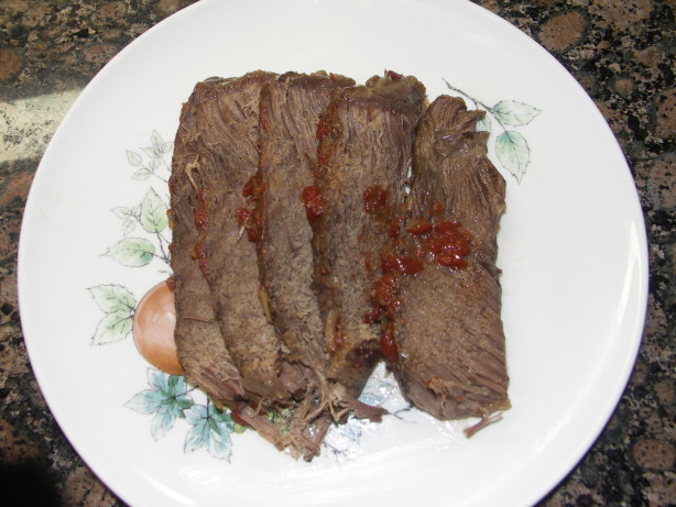 Bar b q chuck roast recipe for Food for bar b q