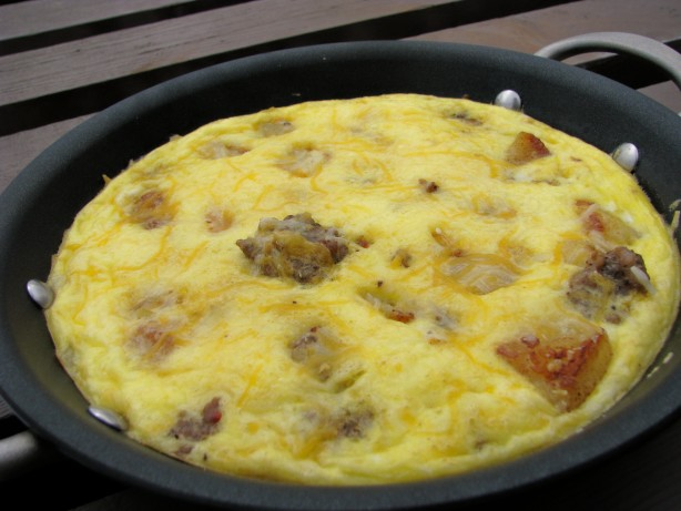 Sausage, Potato And Egg Skillet Recipe - Food.com