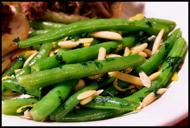 Green Beans With Lemon And Almonds Recipe - Food.com