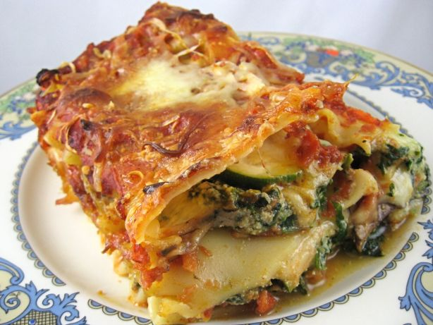 Nice one, need more vegetarian lasagna recipe images like this