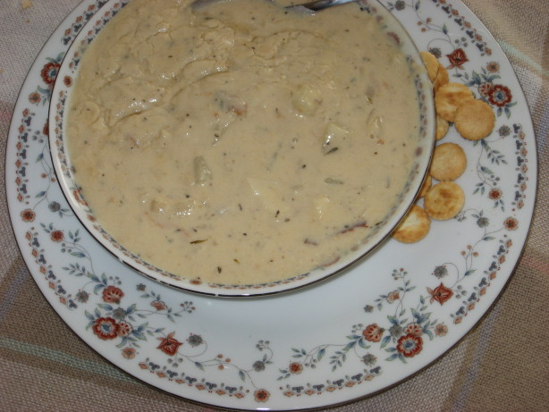 The real deal new england fish chowder recipe for New england fish chowder