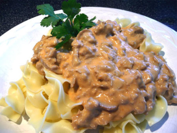 Hamburger Stroganoff Recipe - Food.com