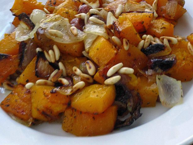 Roasted Butternut Squash, Red Grapes And Sage Recipe - Food.com