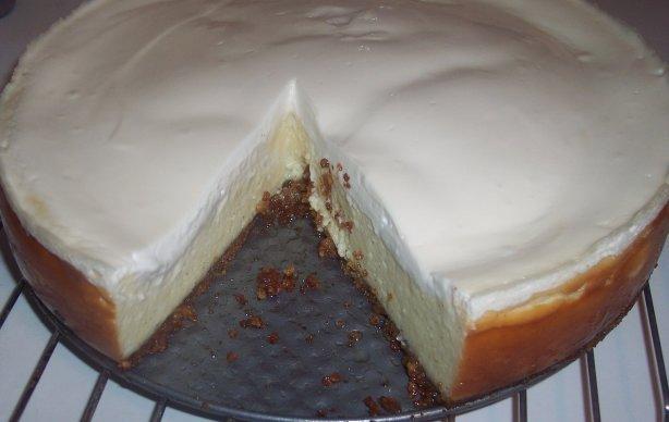 Vanilla Bean Cheesecake With Walnut Crust Recipe Food Com