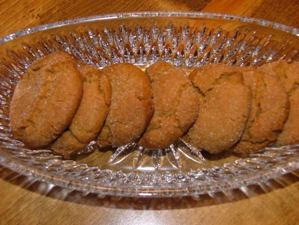 Spicy Molasses Cookies Recipe - Food.com