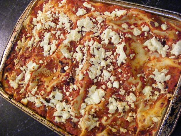 how to make greek lasagna
