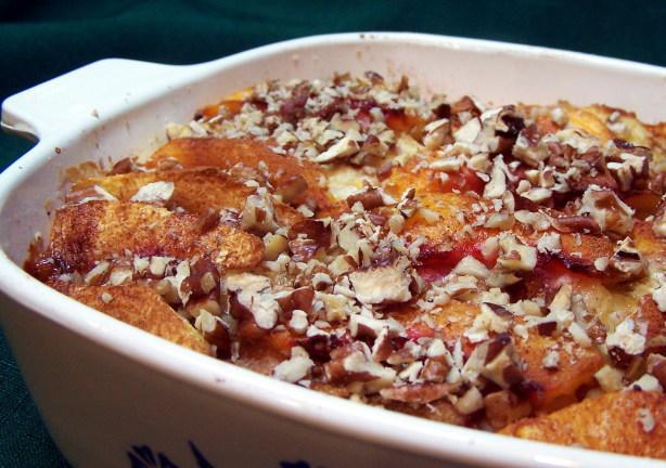 Baked Peach French Toast Recipe - Food.com