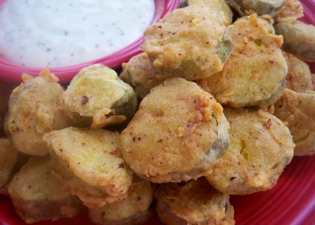 Fried Dill Pickles Recipe — Dishmaps