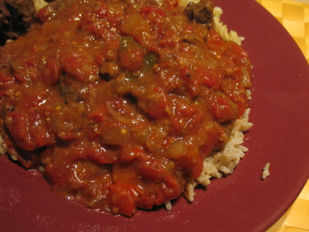 Beef With Tomato Gravy Recipe - Food.com