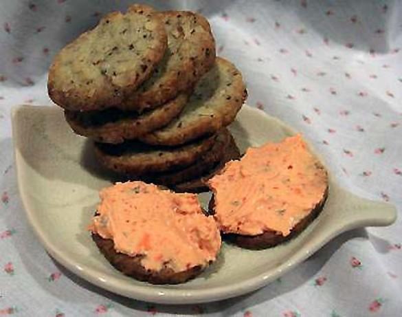 Blue Cheese-Walnut Bites Recipe - Food.com
