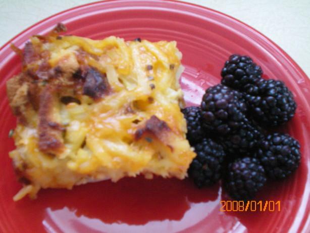 farm breakfast strata recipe breakfast