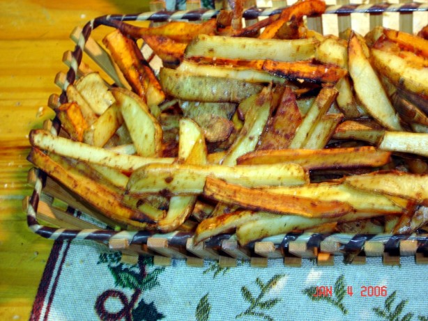 Oven Baked French Fries Recipe - Food.com