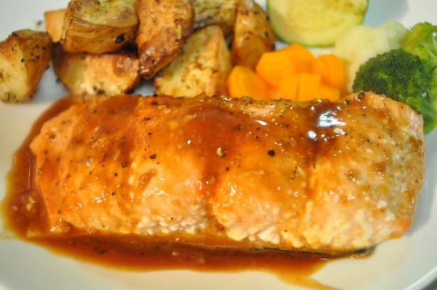 Brown Sugar-Glazed Salmon Recipe - Food.com