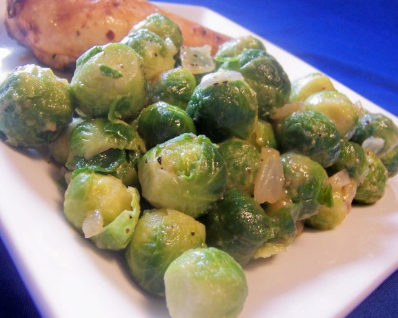 sauce recipe dishmaps braised brussels sprouts in mustard sauce recipe ...