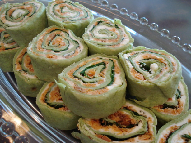 Smoked Salmon Party Roll-Ups Recipe - Food.com