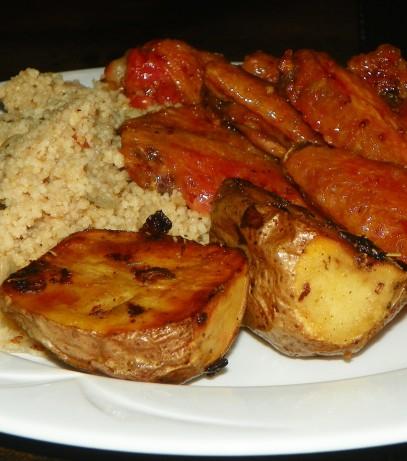 Roasted new potatoes with shallots recipe - New potatoes recipes treat ...