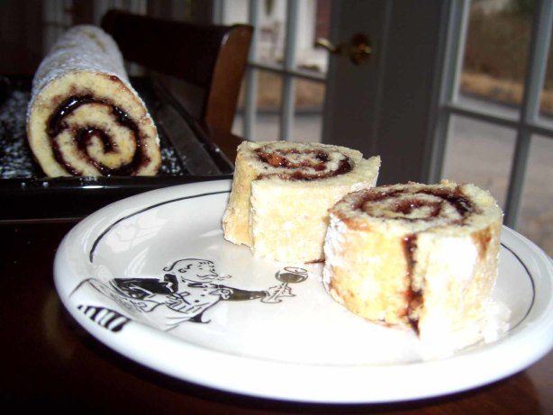 Jelly Roll Recipe Using Cake Flour: Jelly Roll Recipe For An 11x17 Inch Pan Recipe