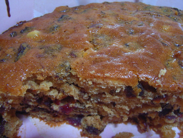 Inch Boiled Fruit Cake Recipe