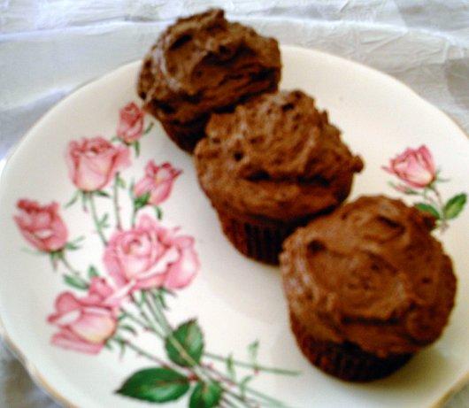 Cake Doctor Chocolate Sour Cream Cupcakes