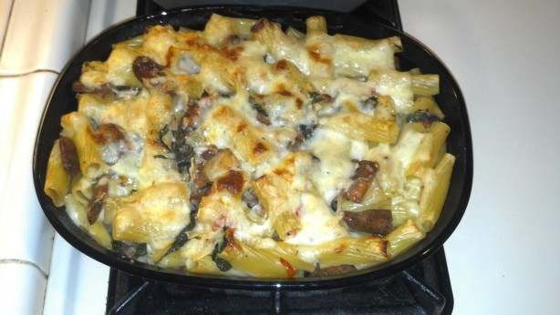 Baked Pasta With Chicken Sausage Recipe - Food.com
