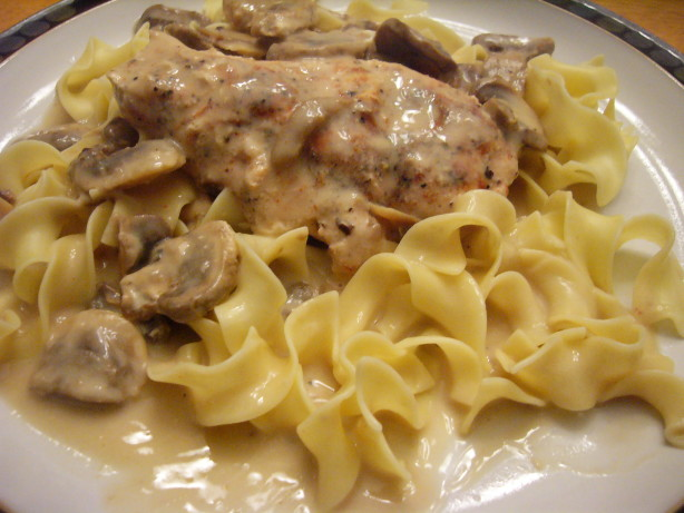 recipe chicken crock pot cream of mushroom