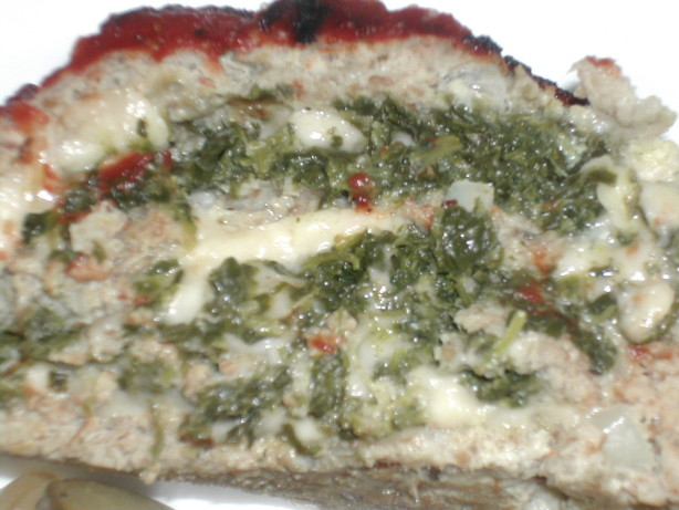 Cheese And Spinach Stuffed Meatloaf Recipe - Food.com