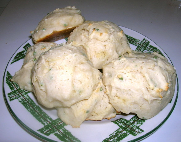 Sour Cream-Chive Drop Biscuits Recipe - Food.com
