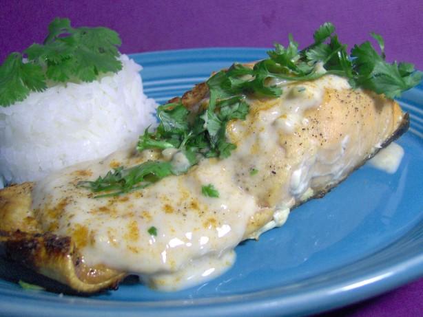 Salmon Cutlets With Yoghurt Sauce Recipe - Food.com