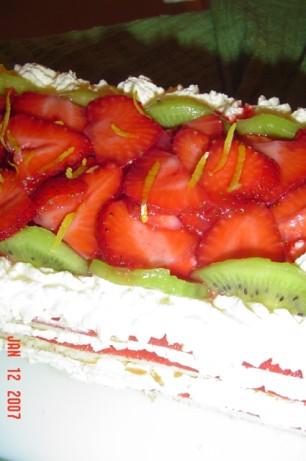 Strawberry Cheesecake Torte Recipe Food Com