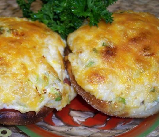 Open Faced Crab Sandwiches Recipe Food Com