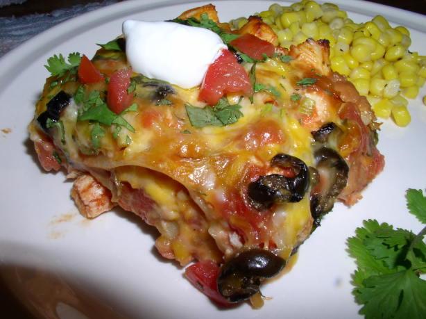 Taco Fiesta Chicken Lasagna Recipe - Mexican.Food.com