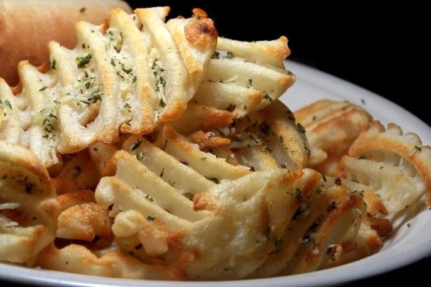 how to cook waffle fries