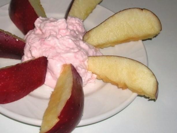 pink fruit recipe for fruit dip