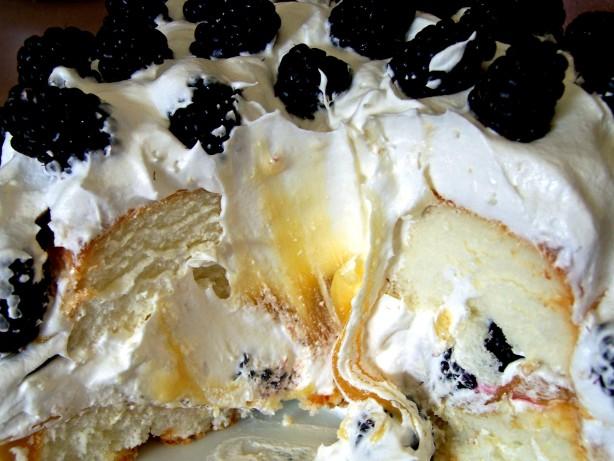Easy Blackberry, Lime Filled Angel Food Cake Recipe - Food.com