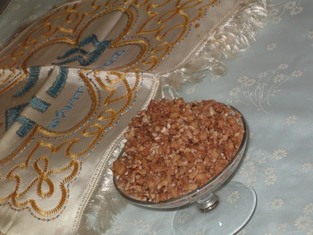Traditional Haroset For Passover Recipe - Food.com