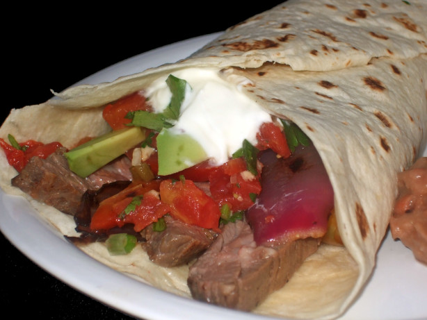 Skirt Steak Fajitas With Lime And Black Pepper Recipe - Food.com