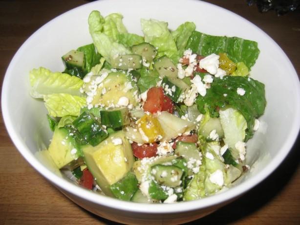 Greek Chopped Salad Recipe - Food.com