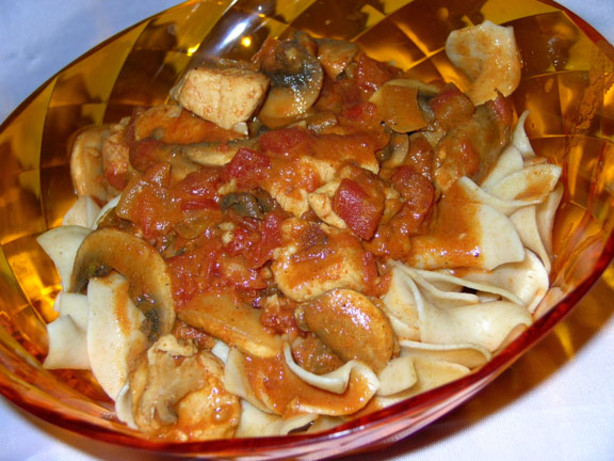 Veal Paprikash Recipe — Dishmaps