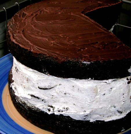 Chocolate Covered Oreo Cookie Cake Recipe Food Com
