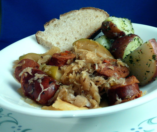 Polish sauerkraut and apples recipe - Appel krat ...