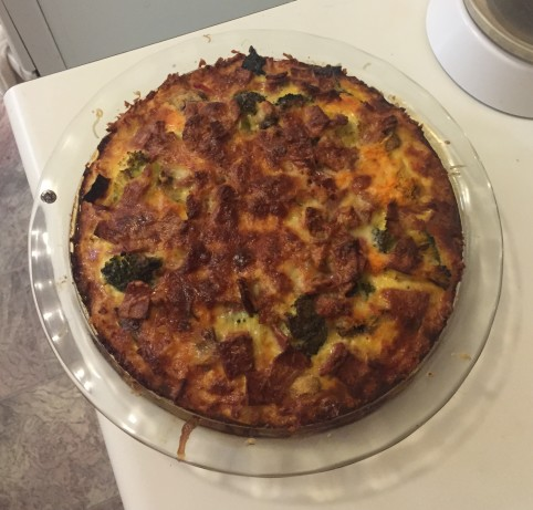 Vegetarian Quiche With Potato Crust Recipe - Cheese.Food.com