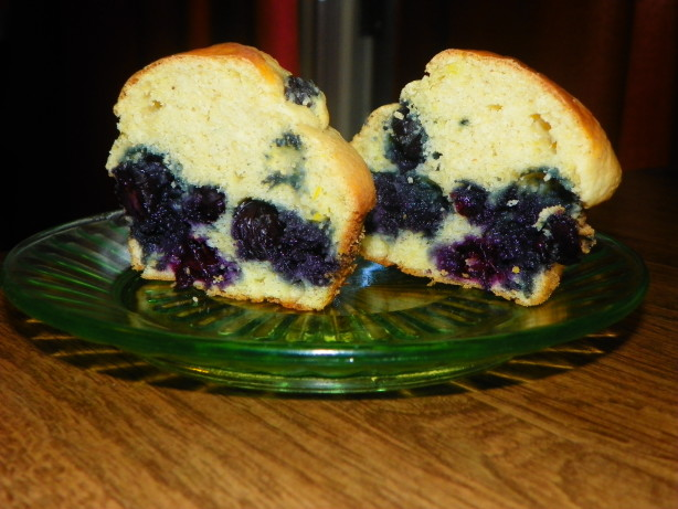 Whole Grain Blueberry Muffins Recipe - Food.com