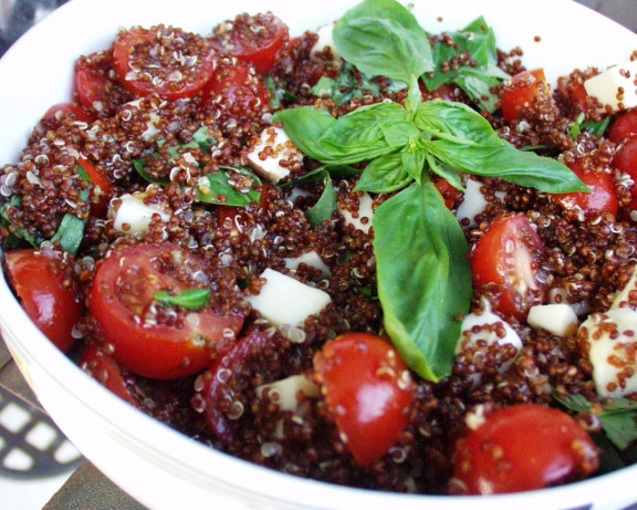 Quinoa caprese recipe for Cuisine quinoa