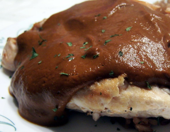 Classic Mole Poblano Sauce With Chicken Recipe - Food.com