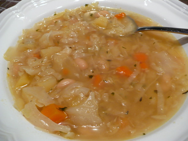 French White Bean And Cabbage Soup Recipe - Food.com