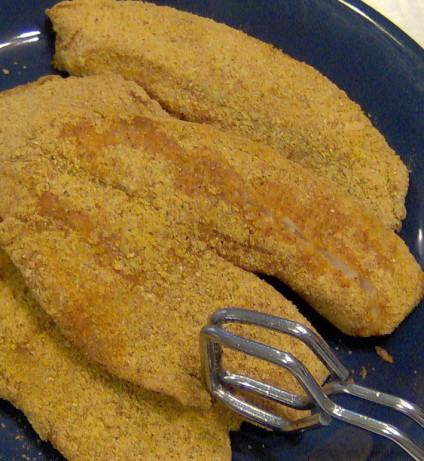Spicy Cornmeal-Crusted Catfish Recipe — Dishmaps