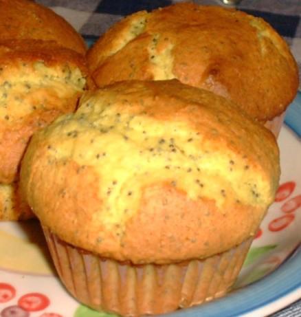 Easy Lemon Poppy Seed Muffins Recipe Food Com